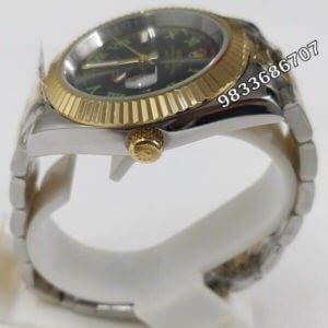 Rolex Date-Just Dual Tone Grey Automatic Men's Watch
