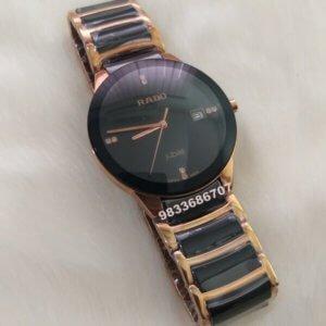 Rado Jubile Centrix Rose Gold Ceramic Men's Watch
