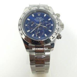 Rolex Oyster Perpetual Daytona Steel Blue Dial Swiss Automatic Watch