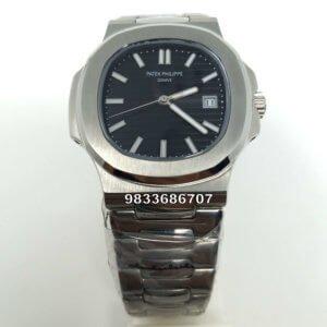 Patek Philippe Nautilus Black Swiss Automatic Watch