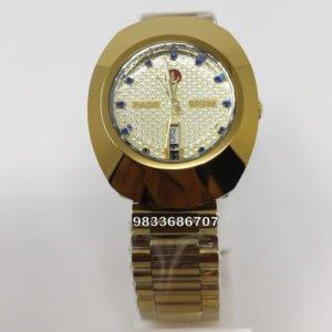 Rado Dia Star Full Gold Automatic Men's Watch