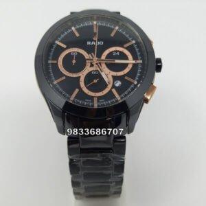 Rado Hyperchrome Chronograph Rose Gold Men's Watch