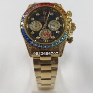 Rolex Daytona Rainbow Swiss Automatic Watch
