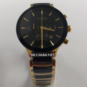 Rado Jubile Centrix Chronograph Ceramic Pure Gold Men's Watch