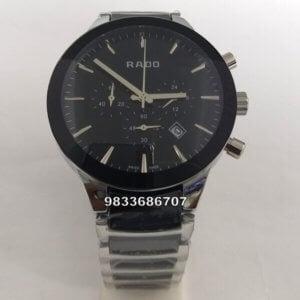 Rado Jubile Centrix Chronograph Ceramic Silver Men's Watch