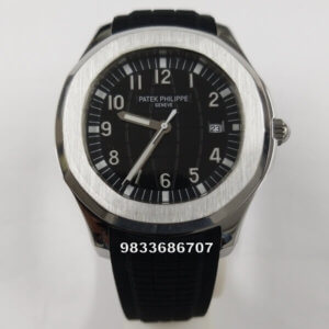 Patek Philippe Aquanaut Black Swiss Automatic Watch