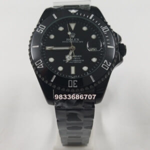 Rolex Submariner Black Automatic Men's Watch