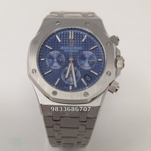 Audemars Piguet Chronometer Blue Dial Men's Watch