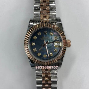 Rolex Date-Just Mother Of Pearl Blue Dial Automatic Women's Watch