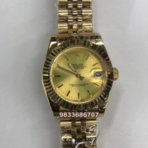 Rolex Date-Just Gold Automatic Women's Watch