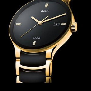 Rado Jubile Centrix Pure Gold Ceramic Men's Watch