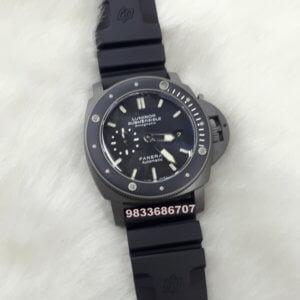 Luminor Panerai Submersible Black Swiss Automatic Watch