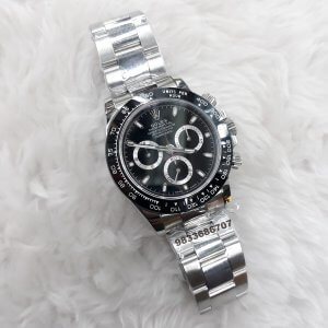 Rolex Oyster Perpetual Cosmograph Daytona Steel Swiss ETA Valjoux 7750 Automatic Movement Watch
