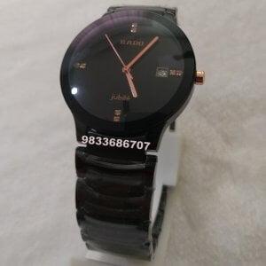 Rado Jubile Centrix Black Ceramic Men's Watch