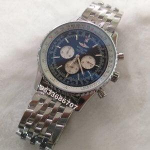 Breitling Navitimer Steel Chronograph Black Men's Watch