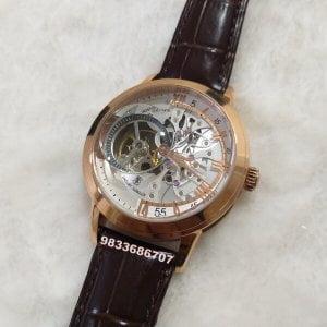 Vacheron Constantin Maître Cabinotier Retrograde Armillary Rose Gold Tourbillon Swiss Automatic Watch