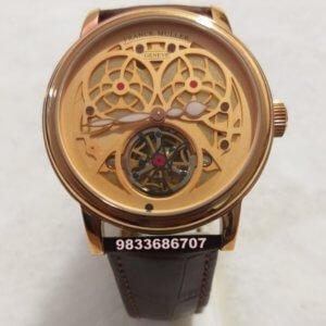 Franck Muller Giga Tourbillon Swiss Automatic Watch