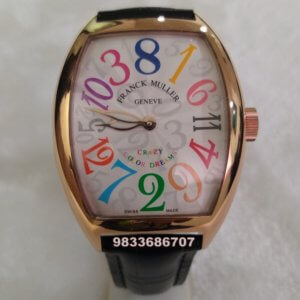 Franck Muller Crazy Hours Color Dreams Automatic Watch