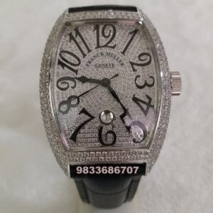 Franck Muller Casablanca Diamond Swiss ETA 7750 Valjoux Movement Automatic Watch