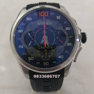 Tag Heuer SLS 100 Mercedes Benz Steel Rubber Strap Watch