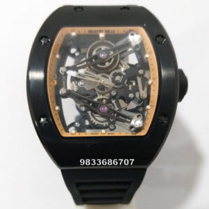 Richard Mille RM 35-01 Rafeal Nadal Black Swiss Automatic Watch