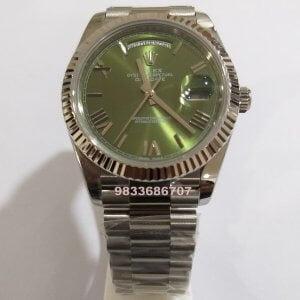 Rolex Day – Date Green Dial Calibre 3135 Swiss ETA Automatic Watch