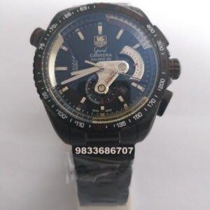 Tag Heuer Grand Carrera Calibre 36 Black Chronograph Men's Watch