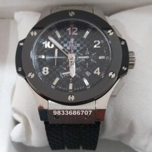 Hublot Big Bang Silver Ceramic Bezel Men's Watch
