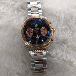 Tag Heuer Grand Carrera Calibre 17 Dual Tone Chronograph Watch