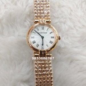 Cartier Ballon Blanc De Rose Women's Watch