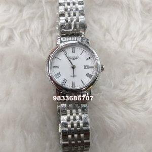 Longines Elegant White Dial Watch