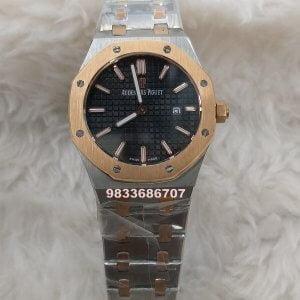 Audemars Piguet Royal Oak Dual Tone Black Dial Women's Watch