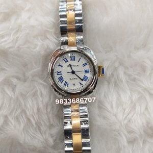 Cartier Cle Yellow Gold Dual Tone Women's Watch