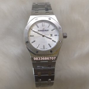 Audemars Piguet Royal Oak White Dial Women's Watch