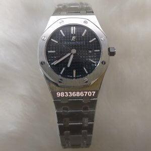 Audemars Piguet Royal Oak Black Dial Women's Watch
