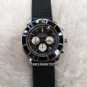 Breitling Superocean Chronograph Black Dial Watch