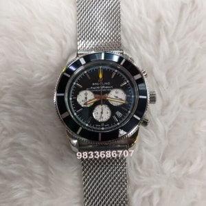 Breitling Superocean Chronograph Steel Black Dial Watch