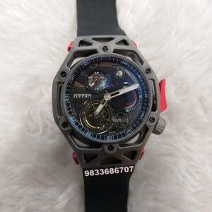 Hublot Big Bang Techframe Tourbillon Ferrari Edition Swiss Automatic Watch
