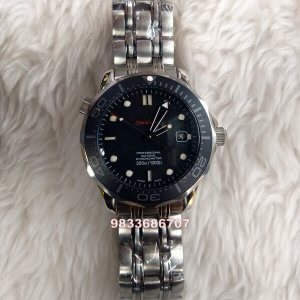 Omega Seamaster Limited Edition Black Dial Swiss ETA 7750 Valjoux Movement Automatic Watch