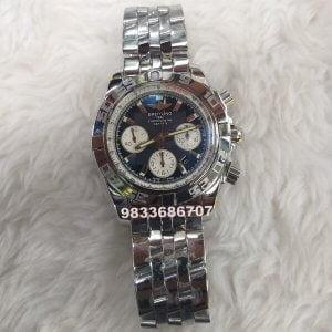 Breitling Chronomat 44 Onyx Swiss ETA Valjoux 7750 Movement Chronograph Watch
