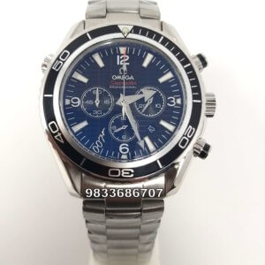 Omega Seamaster Professional 007 Co-Axial Chronograph Black Dial Watch