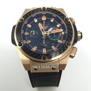 Hublot King Power Formula 1 India Edition Swiss ETA 7750 Valjoux Movement Automatic Watch