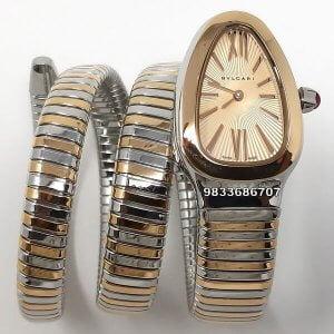 Bvlgari Serpenti Dual Tone Women's Watch