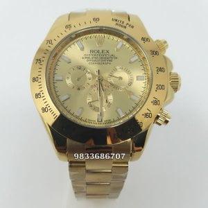 Rolex Cosmograph Daytona Full Gold Swiss Automatic Watch