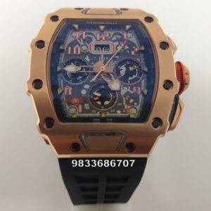 Richard Mille RM 011 Rose Gold Swiss Automatic Watch