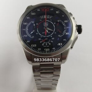 Tag Heuer Grand Carrera SLS 100 Mercedes Benz Limited Edition Silver Chain Chronograph Men's Watch
