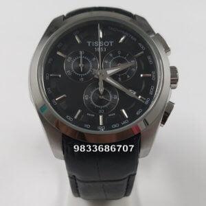 Tissot 1853 Coutrier Leather Strap Chronograph Men's Watch