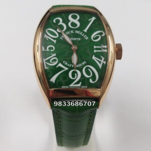Franck Muller Crazy Hours Green Swiss Automatic Watch