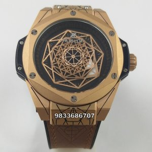 Hublot Big Bang Unico Sang Bleu Gold Swiss Automatic Watch