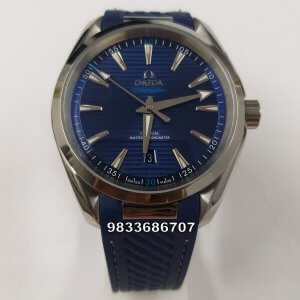 Omega Seamaster Aqua Tera Blue Dial Swiss Automatic Watch